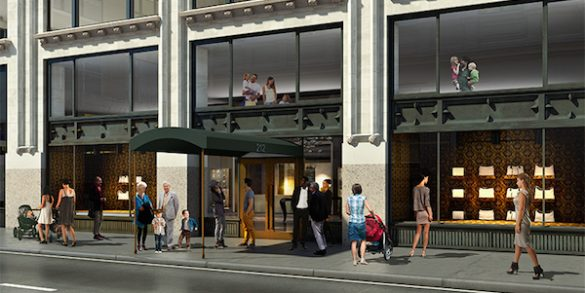 Plans Released for Residential Conversion of 212 Fifth Avenue