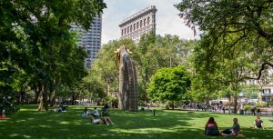 Madison Square Park Outside Kew Offices NoMad NYC