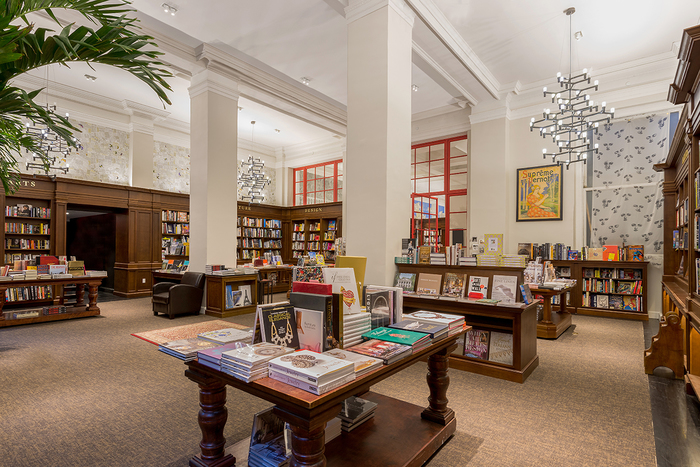 Kew Management tenant Blueberry Builders helped to design the Rizzoli space.