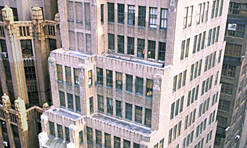 Top of 227 West 29th Street Building by Kew Management