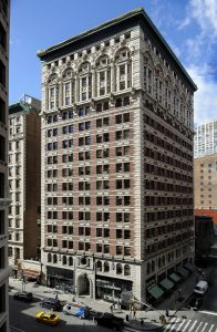 Tall Exterior of Kew Management Building NoMad NYC 1133 Broadway