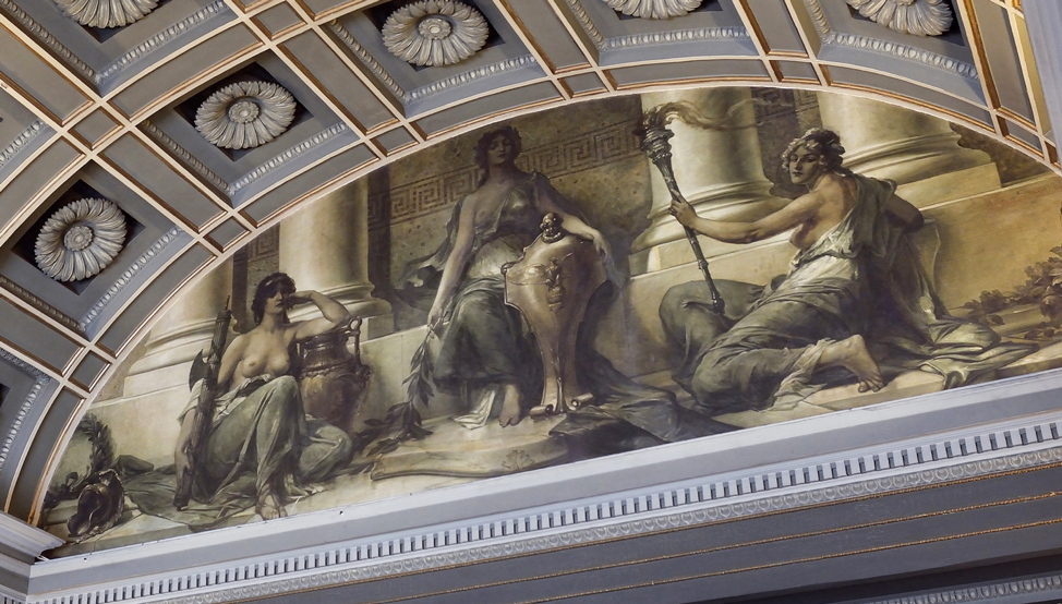 The Mural Over the Entrance to 1133: Part I — Who Are Those Three Women?