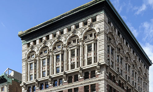 Skyline Exterior of Kew Management Building at 1133 Broadway NoMad NYC