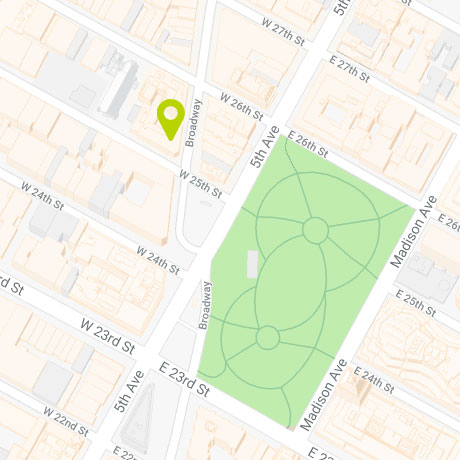 1123 Broadway - Map
