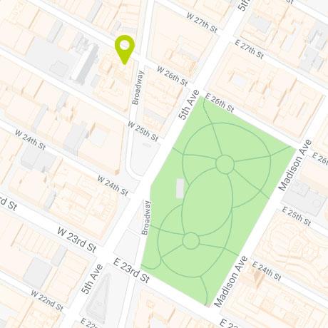 1133 Broadway - Map