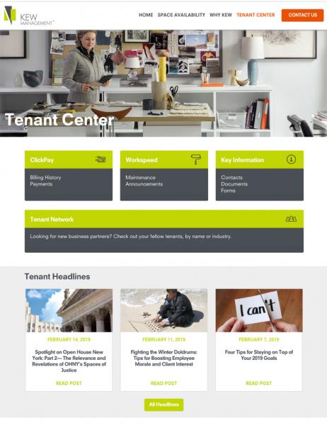 kew-tenant-center - Kew Management