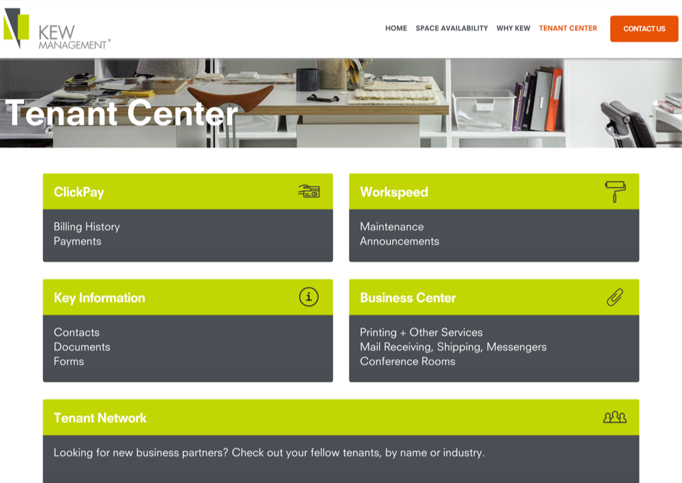 Now! Get Information about the Business Center and Conference Rooms on the Kew Website