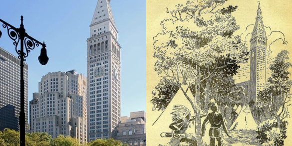 Now and Then: The Stunning Met Tower, Now the Home of The Edition Hotel, Inspired a Science Fiction Story 100 Years Ago