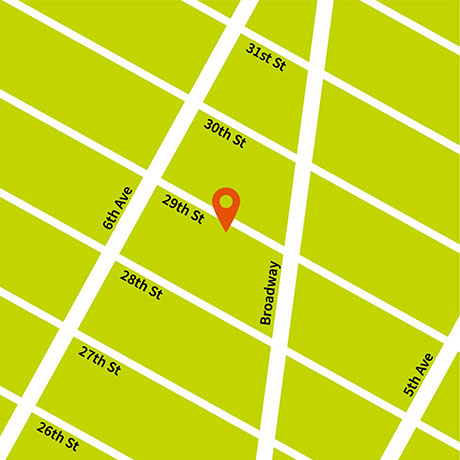 Location Map for 40 West 29th Street
