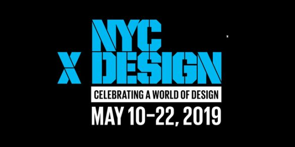 Top Event Picks for New York Design Week 2019 (NYCxDESIGN)