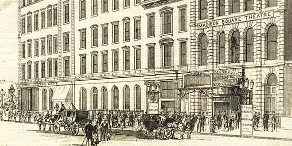 Then and Now: 140 Years Ago, Before the Townsend and St. James Were Even Built, A Nearby Theatre Wowed Audiences with Air Conditioning