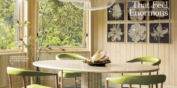 Designer Kureck Jones Featured on the Cover of House Beautiful