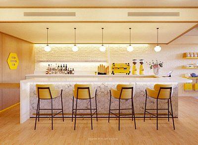 Float Design Studio's Bumble Café Concept